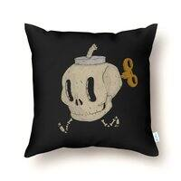 Skull Bomb - throw-pillow - small view