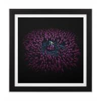 The Rush - black-square-framed-print - small view