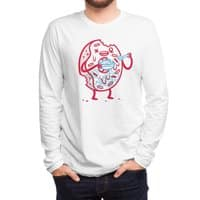 Zombie Donut - mens-long-sleeve-tee - small view