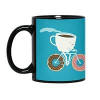 Coffee and Donuts - black-mug - small view