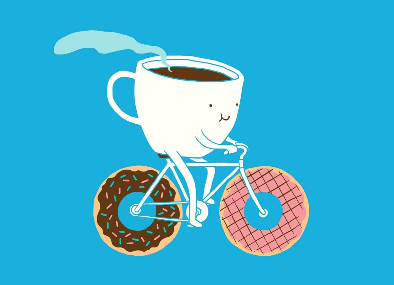 Coffee And Donuts By Lim Heng Swee Threadless
