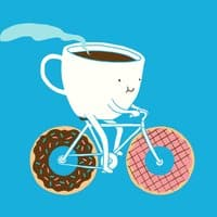Coffee and Donuts - small view