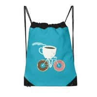 Coffee and Donuts - drawstring-bag - small view