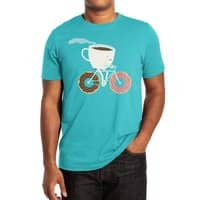 Coffee and Donuts - mens-extra-soft-tee - small view