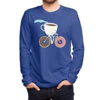 Coffee and Donuts - mens-long-sleeve-tee - small view