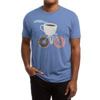 Coffee and Donuts - mens-triblend-tee - small view