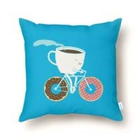 Coffee and Donuts - throw-pillow - small view