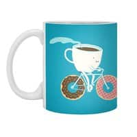 Coffee and Donuts - white-mug - small view