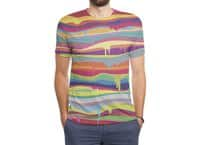 The Melting - mens-sublimated-triblend-tee - small view