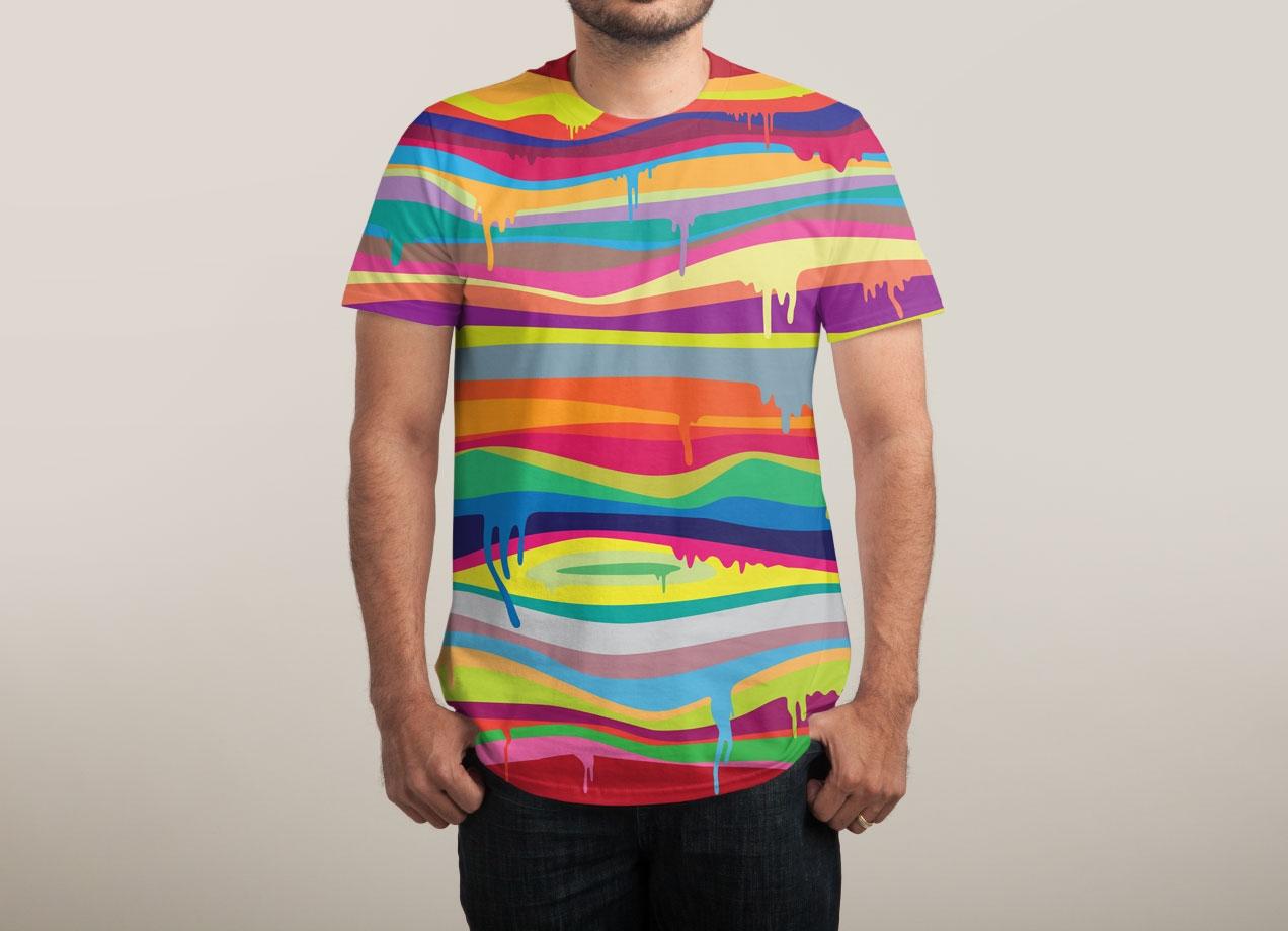 The melting by joe van wetering mens sublimated tee for T shirt designs erstellen