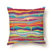 The Melting - throw-pillow - small view