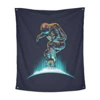 Space Grind - indoor-wall-tapestry-vertical - small view