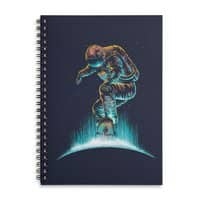 Space Grind - spiral-notebook - small view