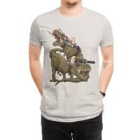 Cats Riding T-Rexs! - mens-regular-tee - small view