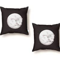 The Howl of the Moon - throw-pillow - small view