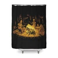Campfire - shower-curtain - small view