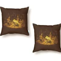 Campfire - throw-pillow - small view