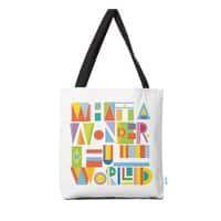What a Wonderful World - tote-bag - small view