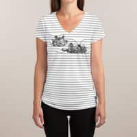 Play with Me - womens-sublimated-v-neck - small view