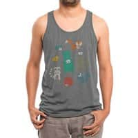 Wildlife Observation - mens-triblend-tank - small view