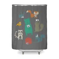 Wildlife Observation - shower-curtain - small view