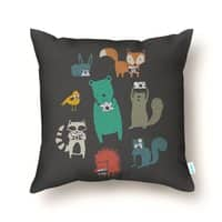 Wildlife Observation - throw-pillow - small view