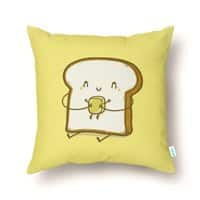 Bread and Butter - throw-pillow - small view