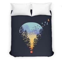Flying Far Far Away - duvet-cover - small view