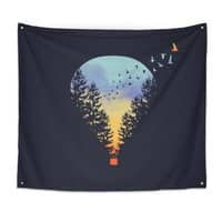Flying Far Far Away - indoor-wall-tapestry - small view