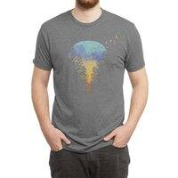 Flying Far Far Away - mens-triblend-tee - small view