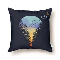 Flying Far Far Away - throw-pillow - small view