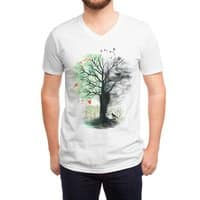 They Loved the Landscape to Death - vneck - small view
