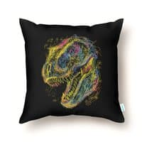 Kids Draw T-Rex - throw-pillow - small view