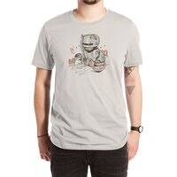 Robocat - mens-extra-soft-tee - small view