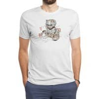 Robocat - mens-triblend-tee - small view