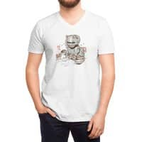 Robocat - vneck - small view