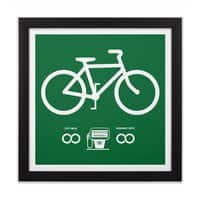 Infinity MPG - black-square-framed-print - small view