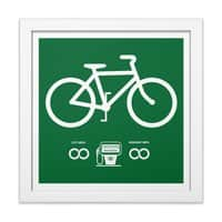 Infinity MPG - white-square-framed-print - small view