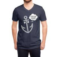 That Sinking Feeling - vneck - small view