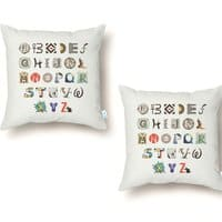 A-Z Art History - throw-pillow - small view