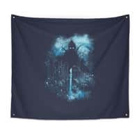 Cthulu Class 5 vs Little Hero - indoor-wall-tapestry - small view