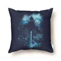Cthulu Class 5 vs Little Hero - throw-pillow - small view