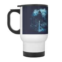 Cthulu Class 5 vs Little Hero - travel-mug-with-handle - small view