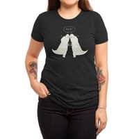 Dino Hug - womens-triblend-tee - small view