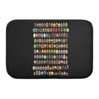 Mini Pixels - bath-mat - small view