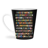 Mini Pixels - latte-mug - small view