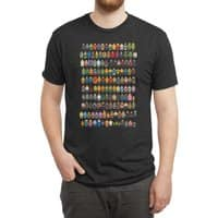 Mini Pixels - mens-triblend-tee - small view