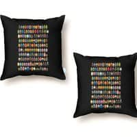 Mini Pixels - throw-pillow - small view