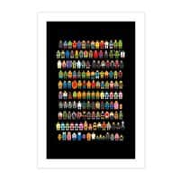 Mini Pixels - vertical-print - small view