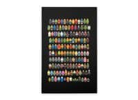 Mini Pixels - vertical-stretched-canvas - small view